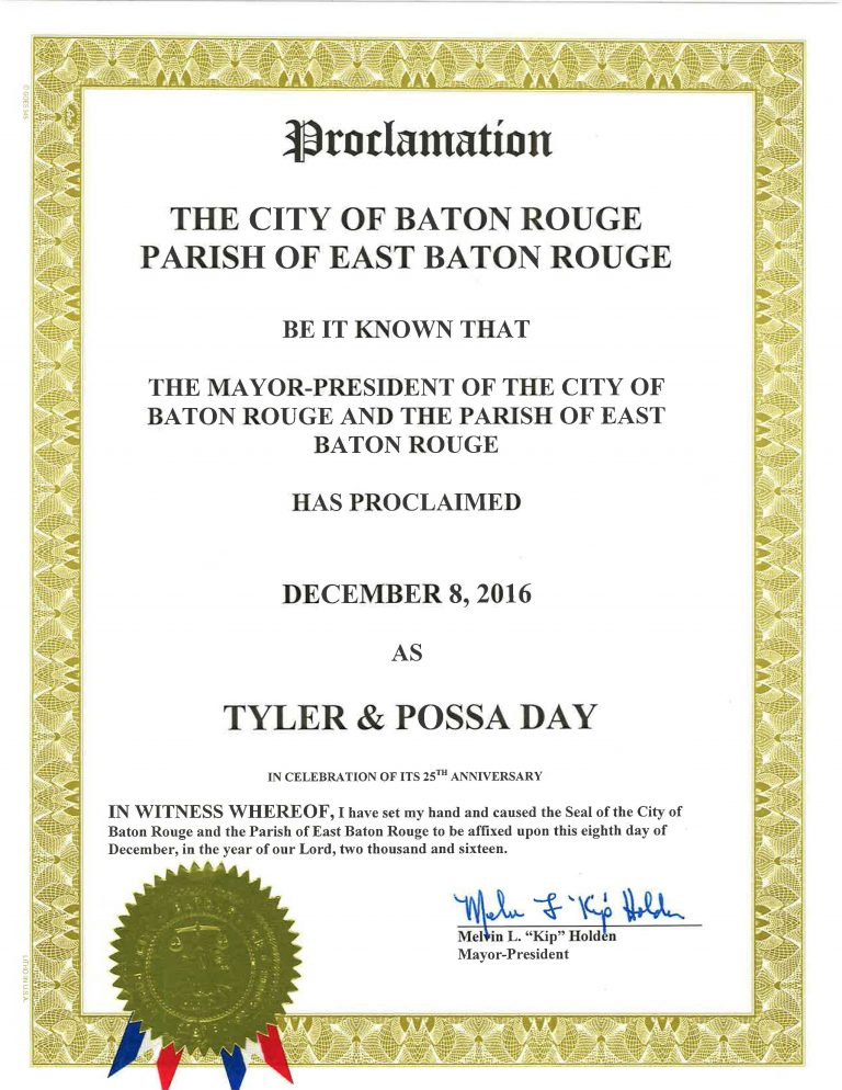 Tyler & Possa Day