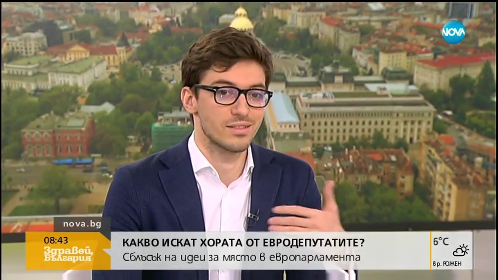 """Румен Чолаков в """"Здравей, България"""""""