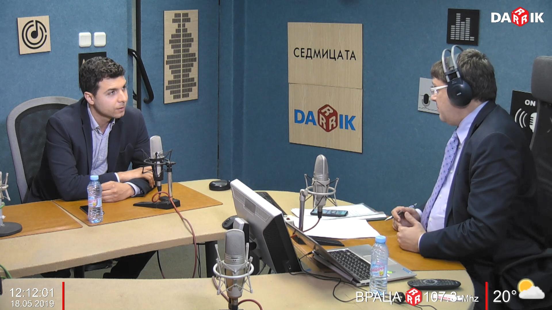 """Никола Апостолов в """"Седмицата"""" по Дарик Радио"""