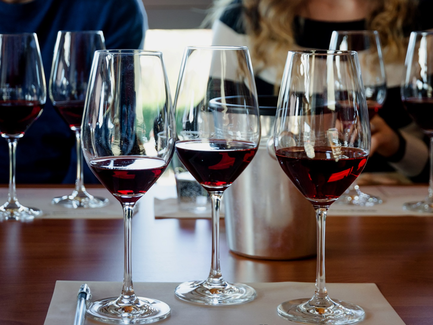 """""""Great time! Very Knowledgeable… - …and professional and allowed the right balance of wine guidance and tasting/fun."""" - Steve, Deloitte"""