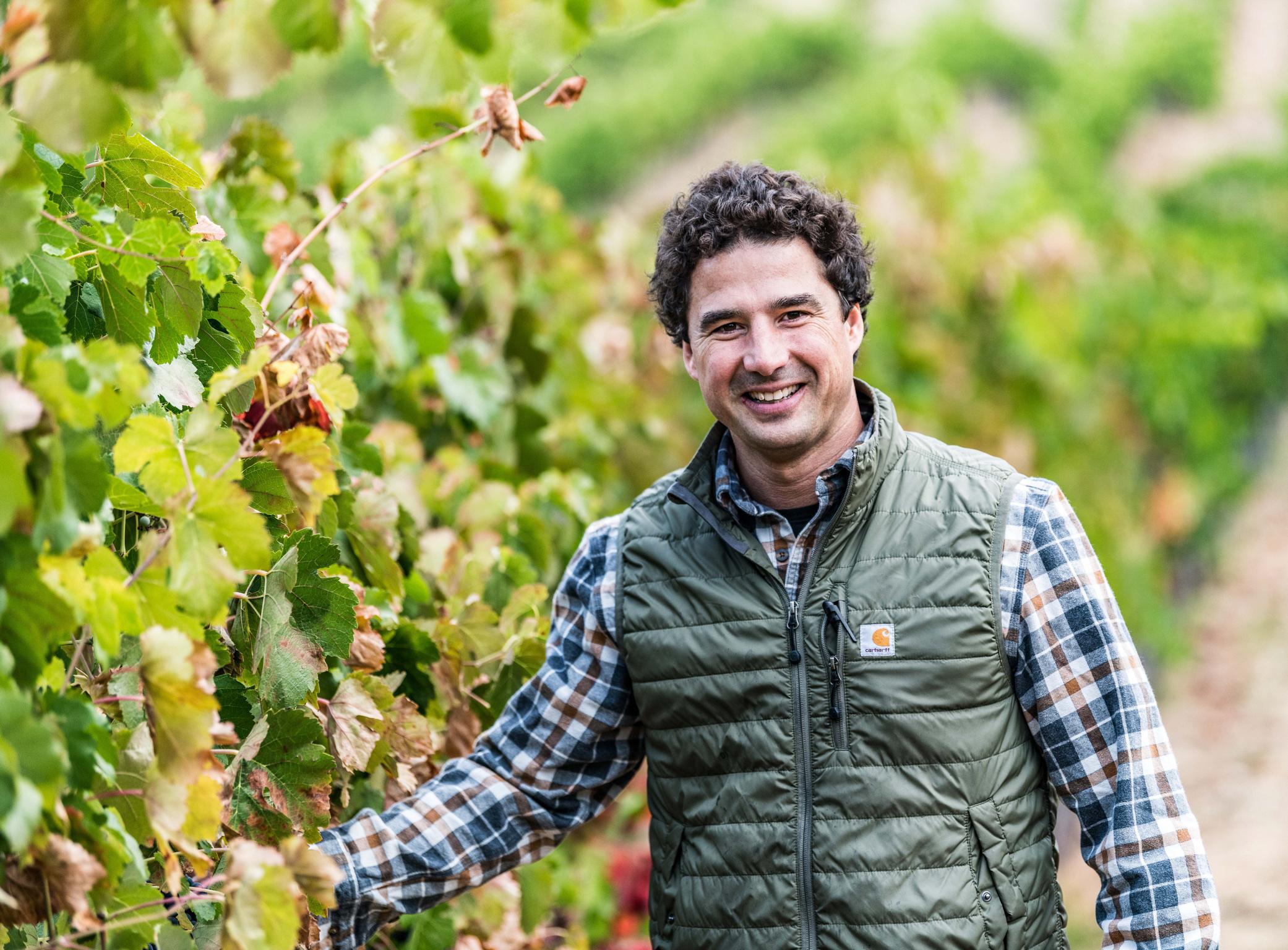 Winemaker Michael Scorsone.
