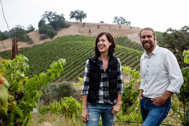 Noah and Kelly Dorrance, winemakers of Reeve Wines.