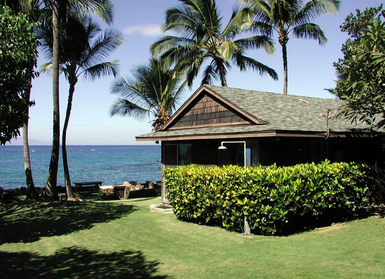 Maui Beach Cottage Oceanfront Makena