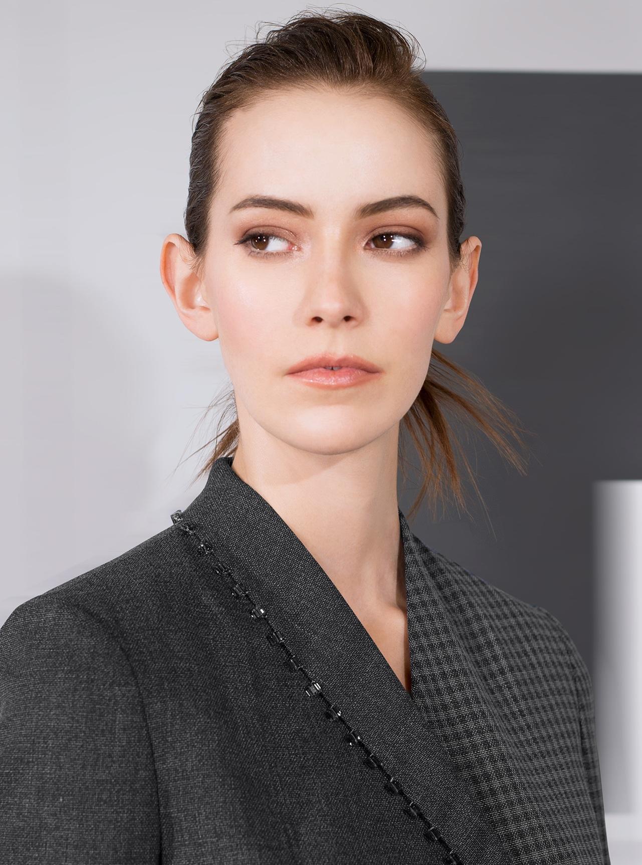 Jacket+Micro+plaid+wool+black+oyster+with+black+beaded+lapel+5B-9461.jpg