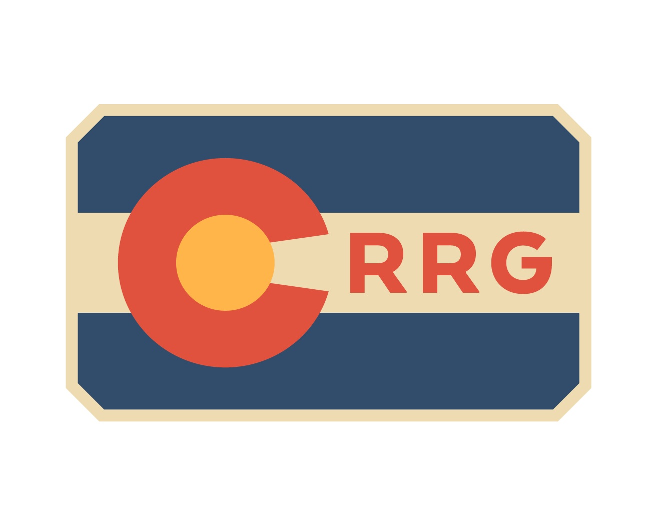 Red Rocks glamping colorado flag icon