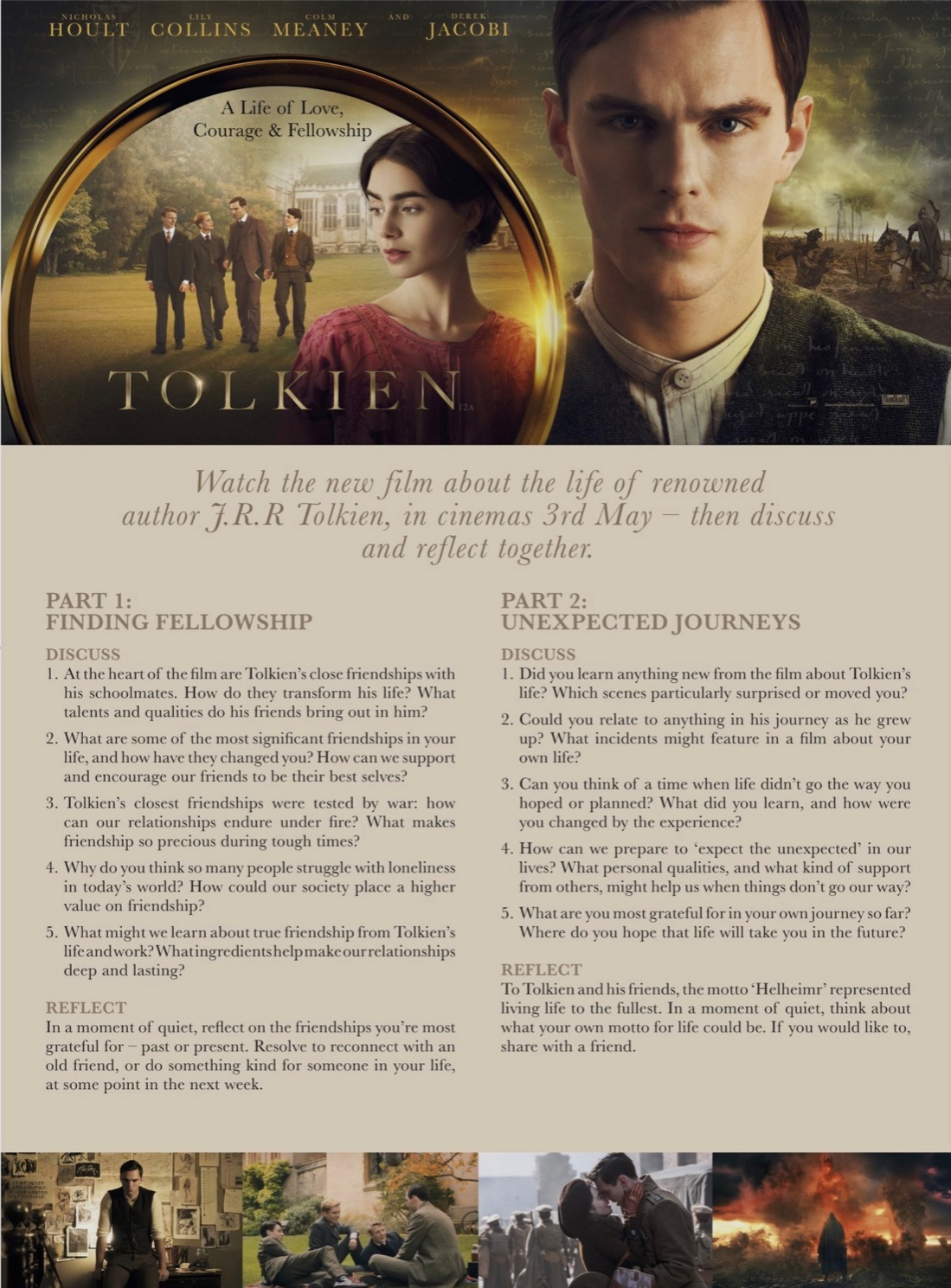 Tolkien one-pager