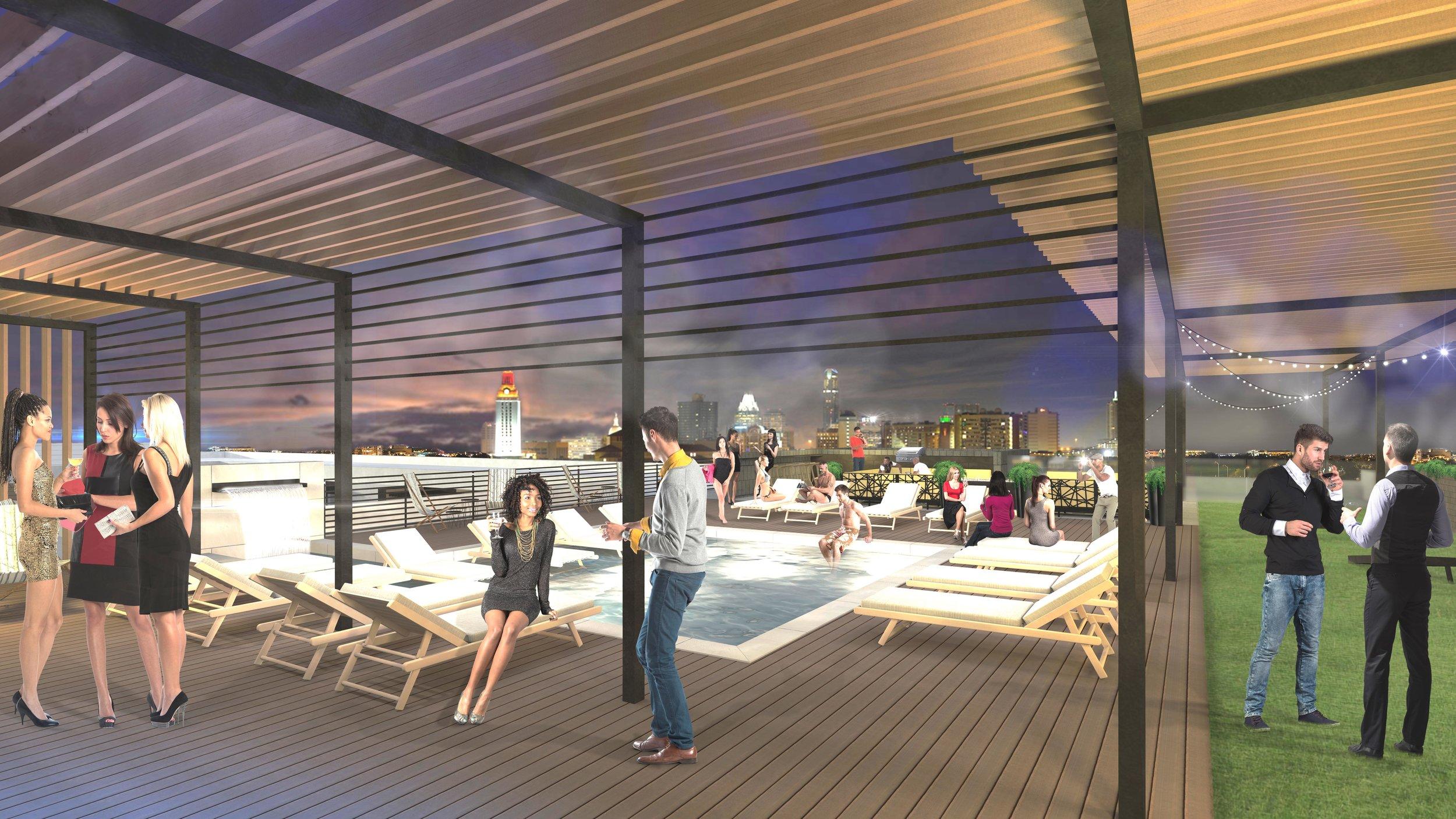 The Braxton Austin apartments amenities