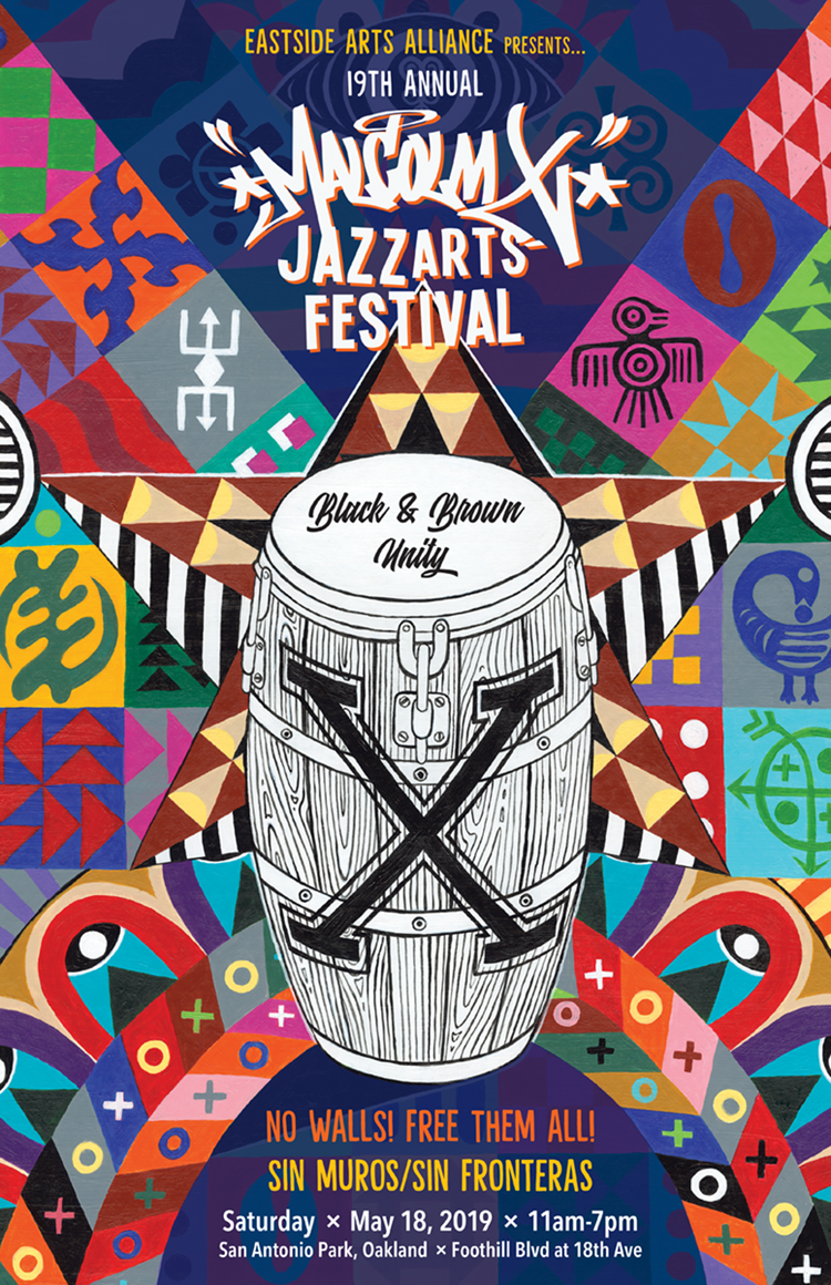 19th Annual Malcolm X JazzArts Festival, 5/2019 (Eastside Arts Alliance)