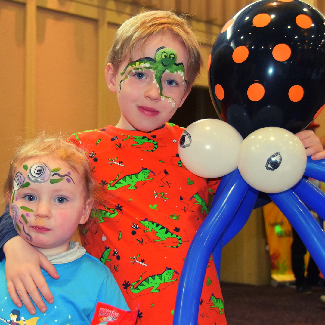 Kids face painting Limerick event