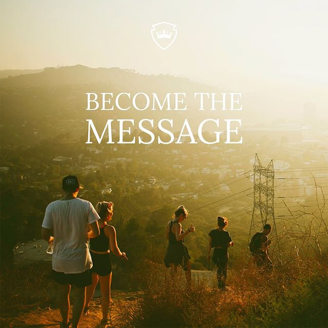 This week it's all about the kingdom! Becoming the message, heralding the kingdom of God. Jesus came to preach the kingdom, He told us to proclaim the kingdom. It's time that we get the message right.