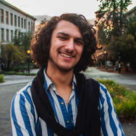 "Giovanni D'Ambrosio , Undergraduate, Sociology, ""The Political Construction of Survivor Support: Imagining Need and Visioning Strategy Within the Bay Area's Anti-Sexual Violence Movement"""