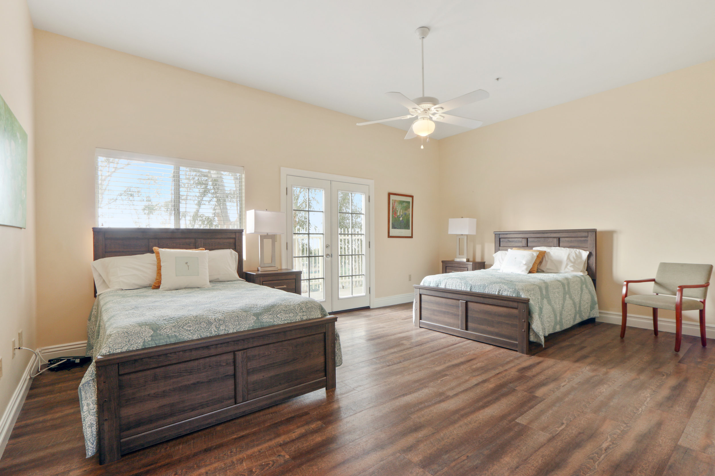 ROOM #4 - Lucille Ball - This bedroom offers natural light and overlooks the city.
