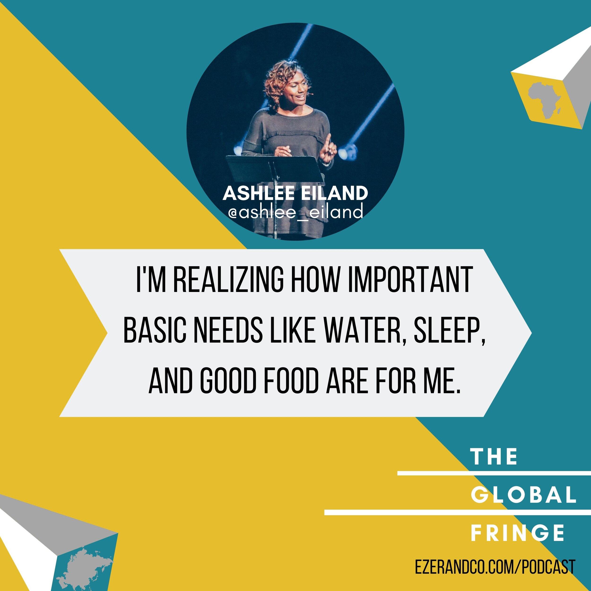 Ashlee Eiland - The Global Fringe