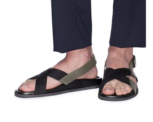 △  Valentino Cross Strap Slingback Sandals  US$525 (~HK$4120)