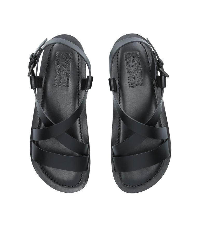 △  Salvatore Ferragamo Leather Sandals  HK$3226