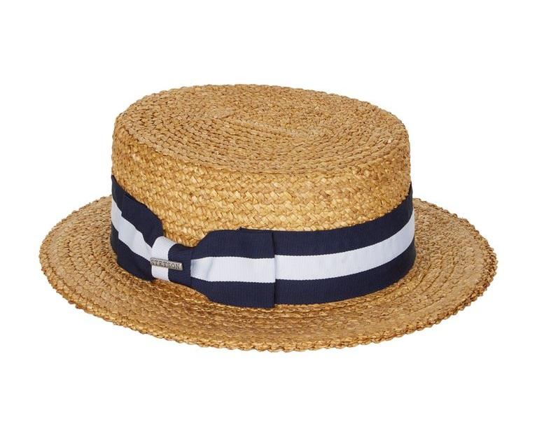 △ Stetson Striped Ribbon Panama Hat  HK$601