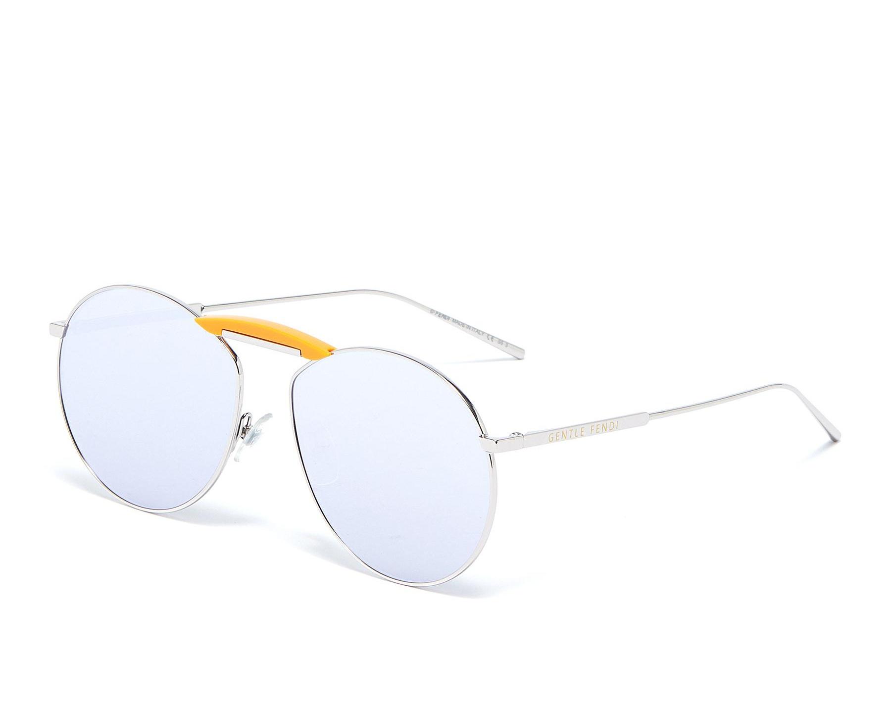 △  Fendi X Gentle Monster 'Gentle Fendi 02' Acetate Bridge Metal Round Sunglasses  HK$2910