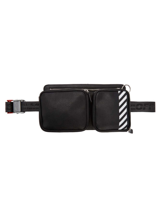 △ Off-White Black Diag Hip Bag  HK$5,148