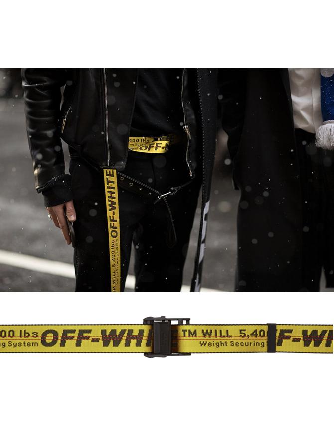 △ Off-White Yellow Industrial Belt  HK1,314