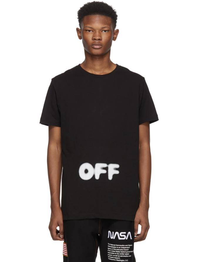 △ Off-White Black Kidmograph Slim T-Shirt  HK$1,510