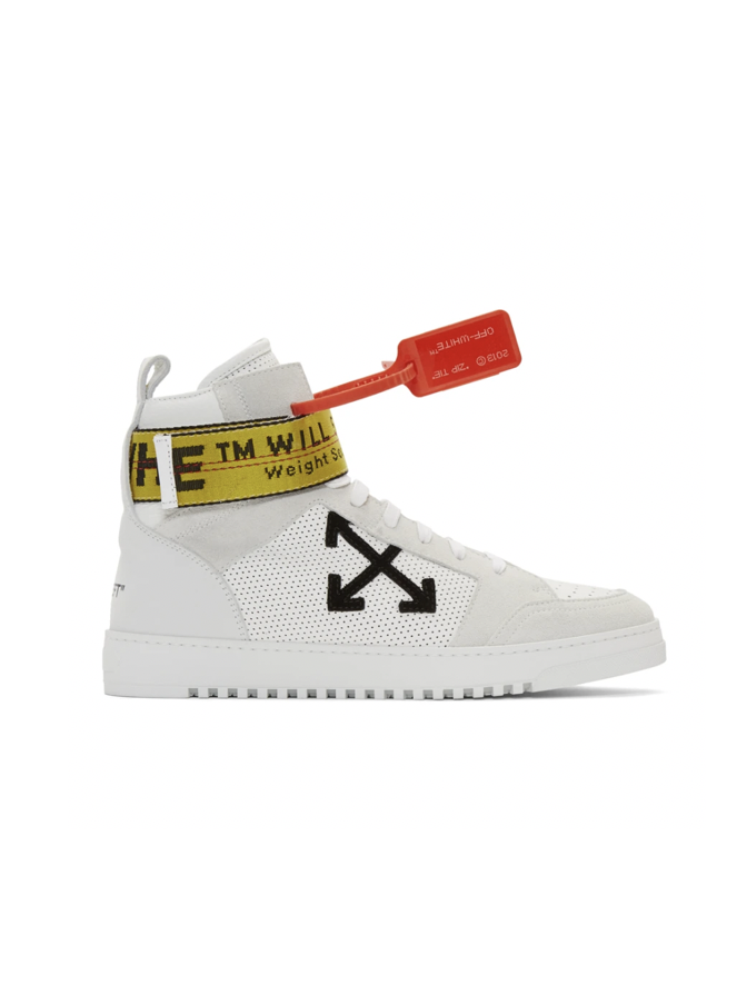 △ Off-White White Industrial High-Top Sneakers  HK$3,569