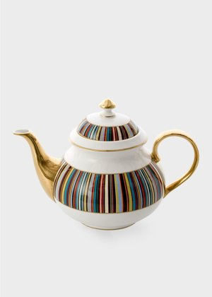 △  Paul Smith for Thomas Goode - Signature Stripe Bone-China Teapot £355.00