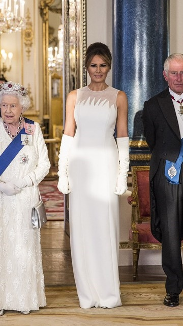 Melania Trump in Christion Dior