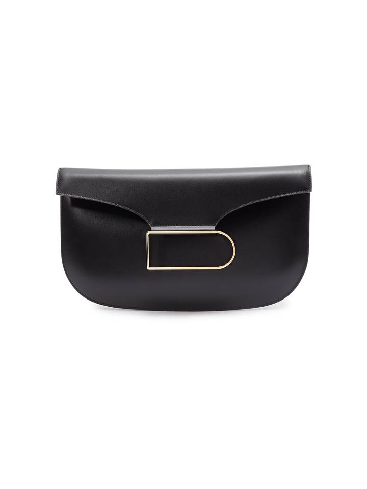 △ Delvaux 'Double Je' Leather Clutch  HKD$26,800