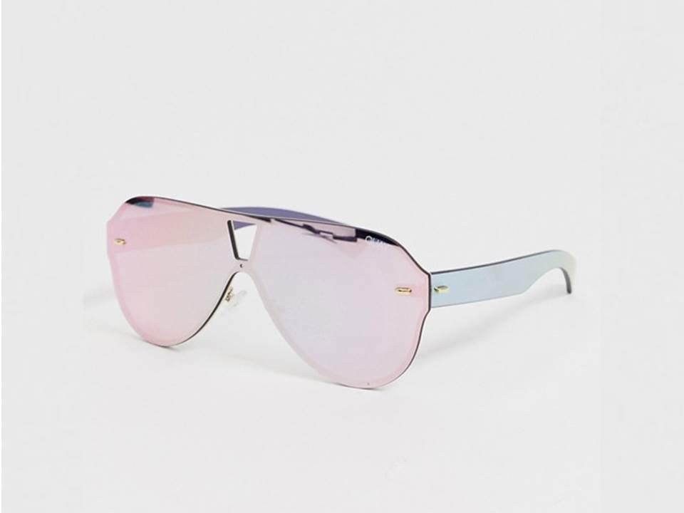 △ Quay Australia stay afloat aviator sunglasses in pink  HK$476