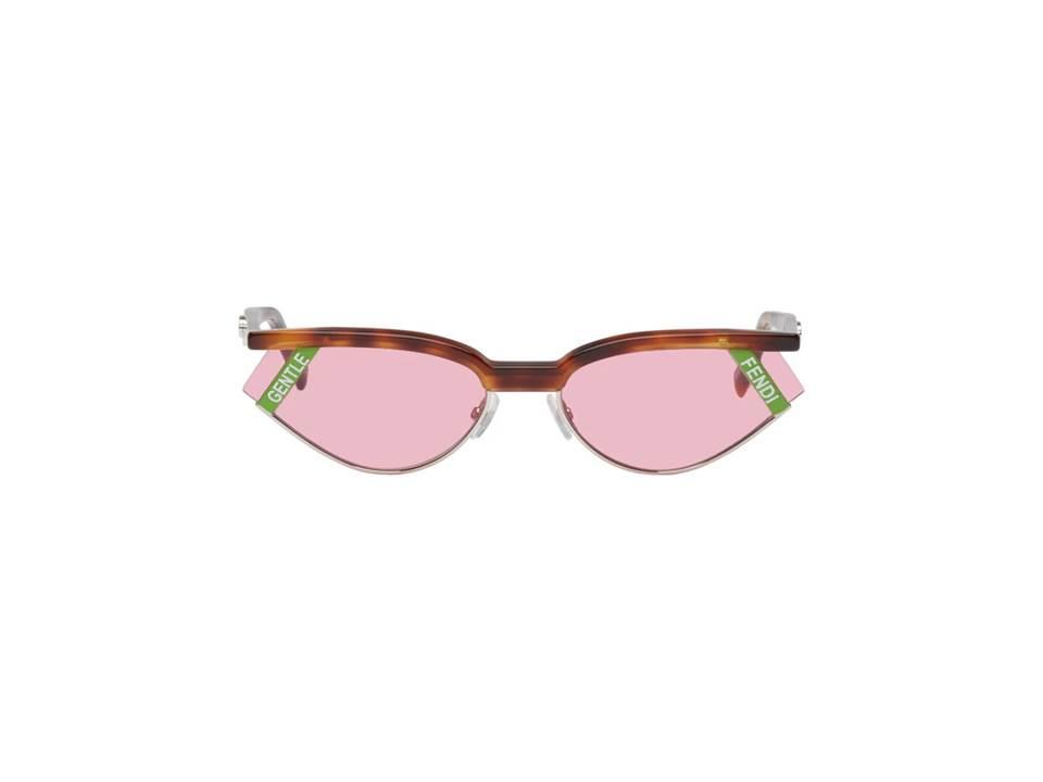 △ Gentle Monster Tortoiseshell Fendi Edition 'Gentle Fendi' No. 1 Sunglasses  HK$3,690