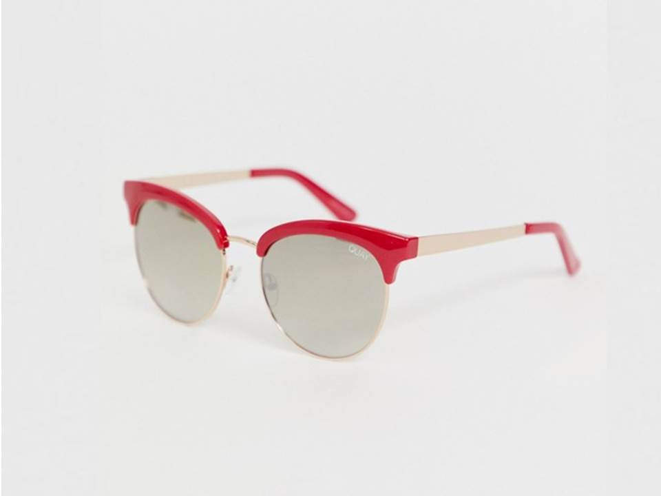 △ Quay Australia cherry round sunglasses in red  HK$476