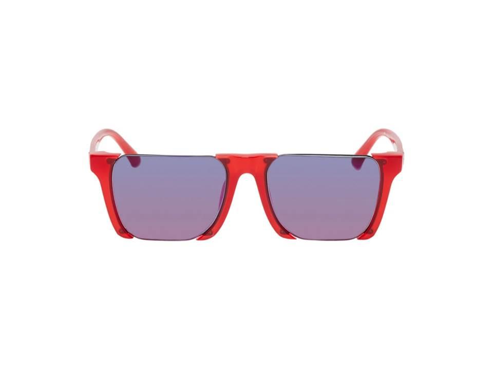 △ Marcelo Burlon County of Milan Red Linda Farrow Edition Cut-Out Sunglasses  HK$1,970
