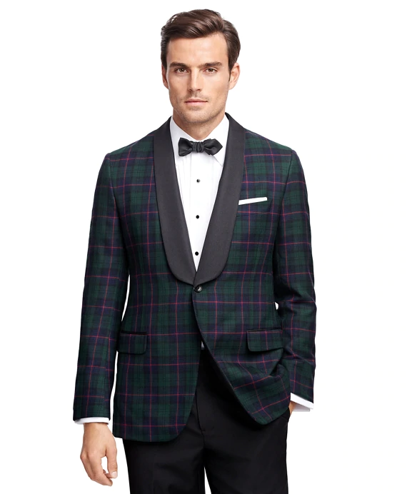 △ Fitzgerald Fit Tartan Tuxedo Jacket  UK$598 (~HK$4,678)