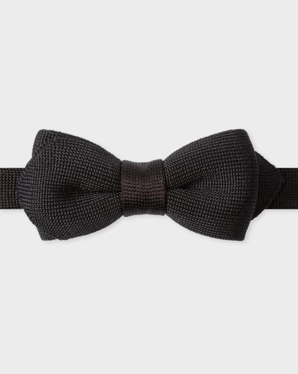 △ Paul Smith Men's Black Knitted Silk Bow Tie  GB£75 (~HK$720)