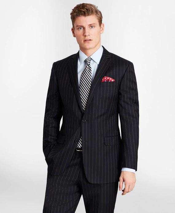 △ BrooksGate™ Milano-Fit Bead-Stripe Twill Suit Jacket  US$358 (~HK$2,800)