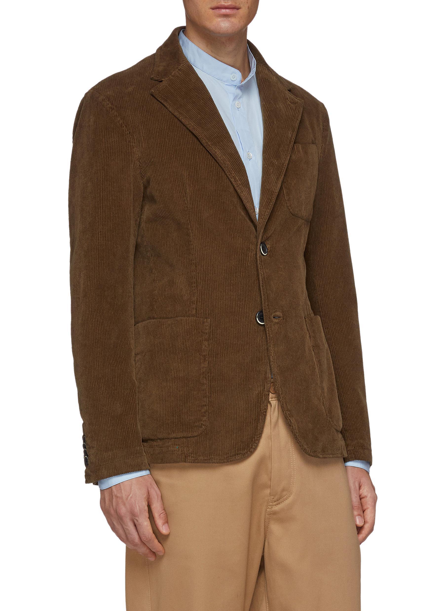 △ Barena Corduroy Soft Blazer  US$565 (~HK$4,419)