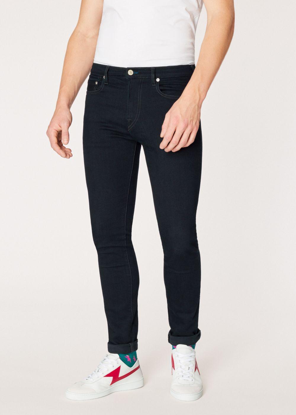 △ Paul Smith Men's Slim-Standard 'Blue/Black Reflex' Jeans  GB£58 (~HK$552)