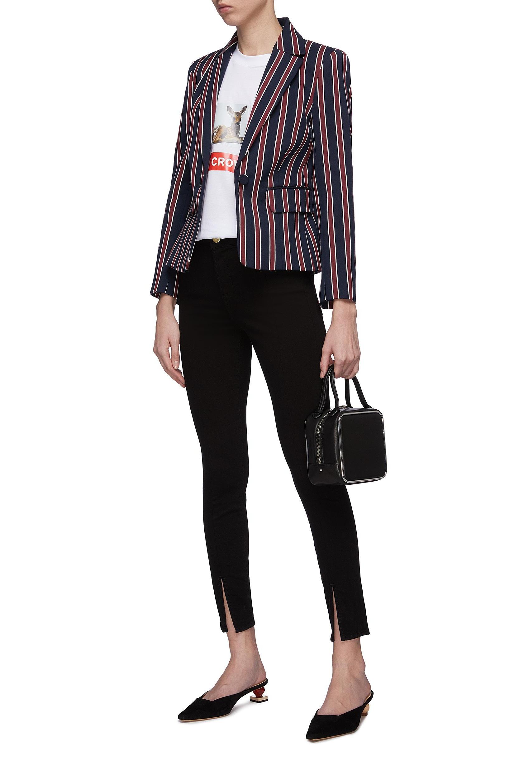 △ Frame Denim 'Le High Skinny' Split Cuff Jeans  US$210 (~HK$1,647)
