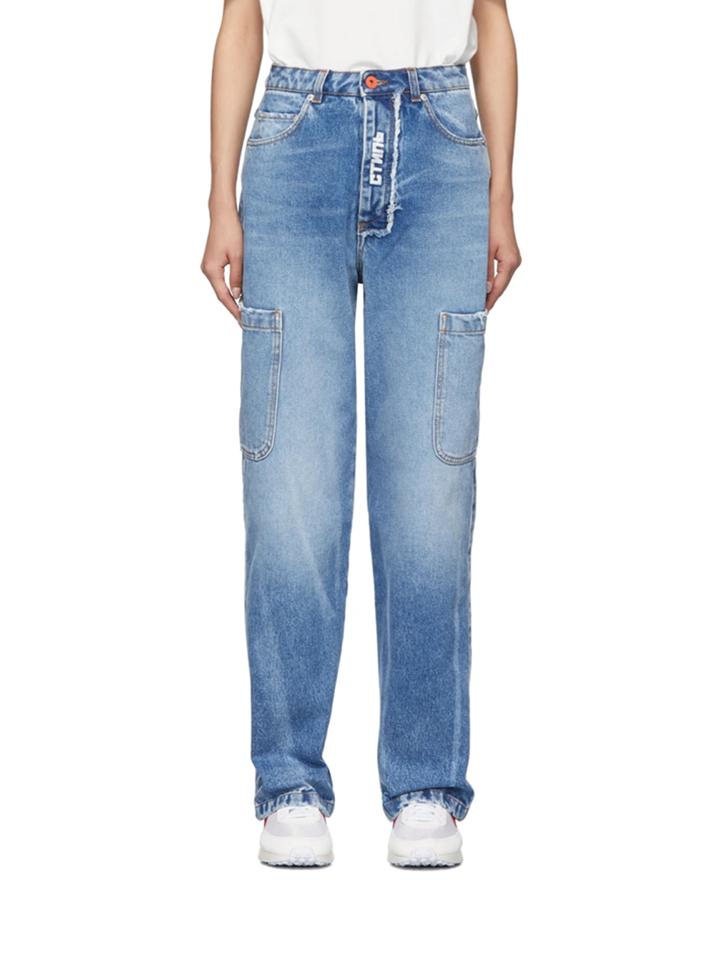 △ Heron Preston Blue Baggy 5Pockets Jeans  HK$4,610