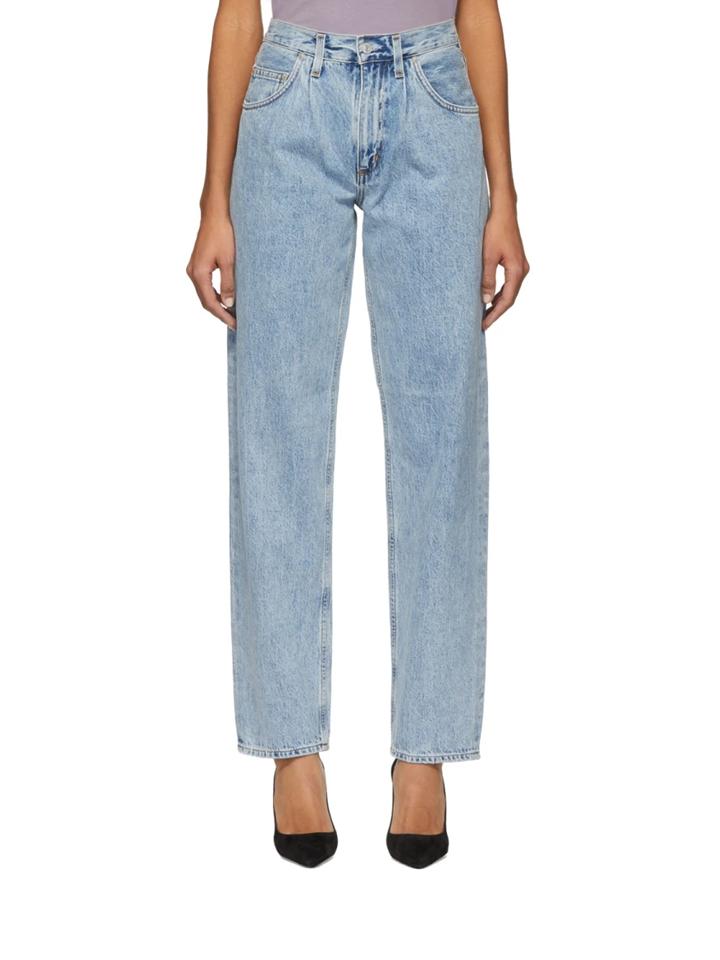 △ Agolde Blue Pleats Baggy Oversized Jeans  HK$1,340