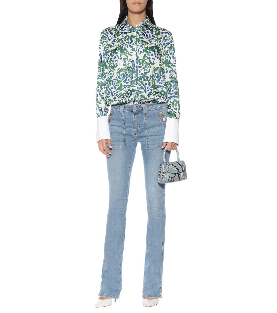 △ VICTORIA BECKHAM Mid-rise Flared Jeans  HK$1,900