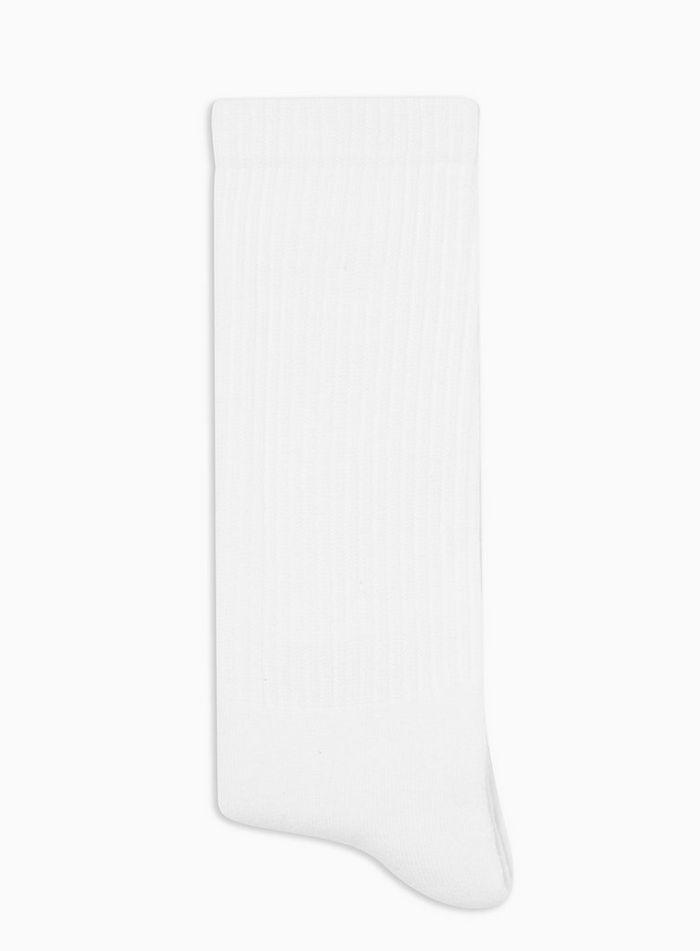 △ Topman Plain White Tube Socks  GB£3.5 (~HK$34)