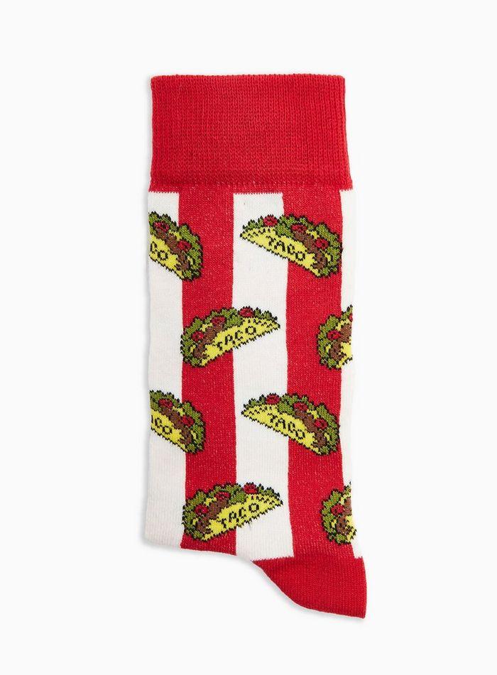 △ Topman Taco Red Stripe Socks  GB£3.5 (~HK$34)