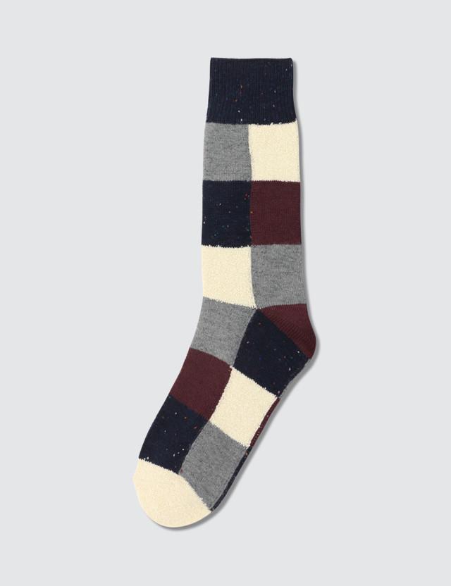 △ TABIO Colorful Material Mix Blocks Socks  HK$94.2
