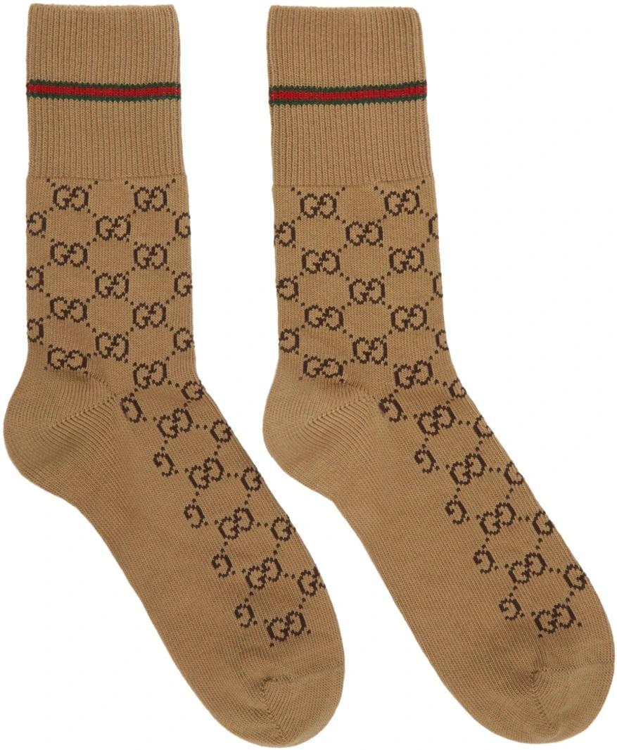 △ Gucci Beige GG Socks  HK$850