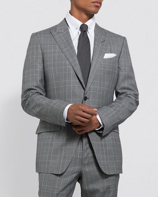 △ Tom Ford Plaid Check Suit  HK$23,636
