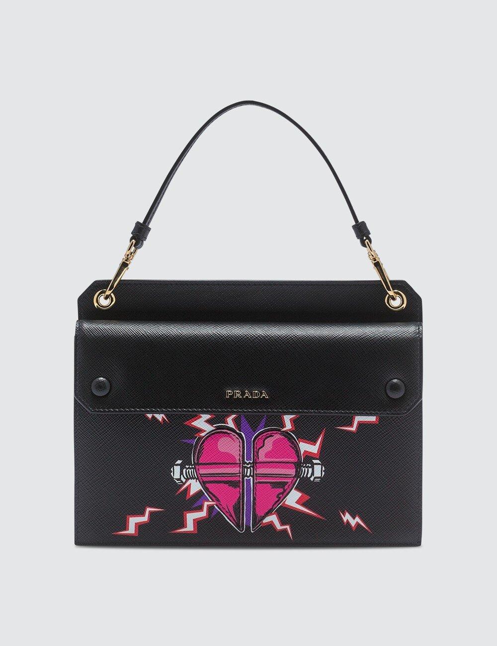 △ Prada Heart Print Leather Bag  HK$5,416