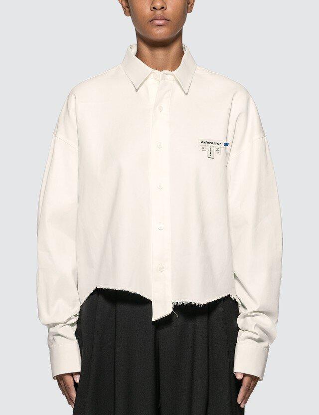 △ Ader Error Oversized Cropped Shirt  HK$2,080