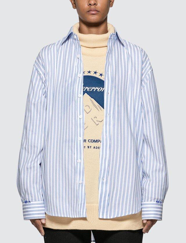 △ Ader Error Oversized Fit Stripe Shirt  HK$2,472