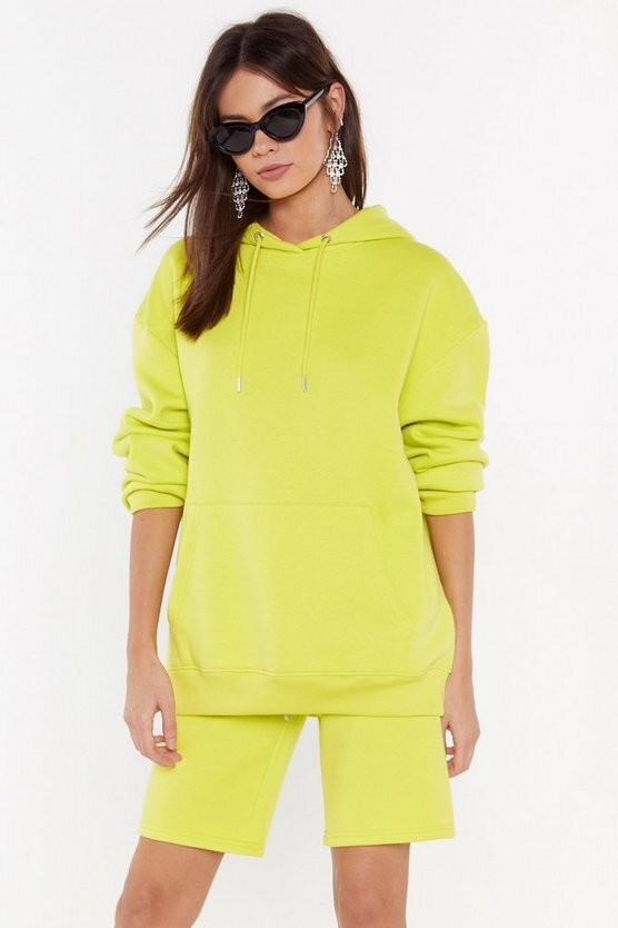 Nasty Gal Keep It Chill Oversized Hoodie  US$50 (HK$392)